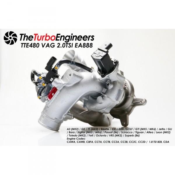 TTE480+ TSI UPGRADE TURBOCHARGER