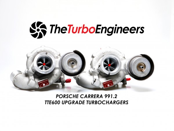 TTE600 991.2 UPGRADE TURBOCHARGERS