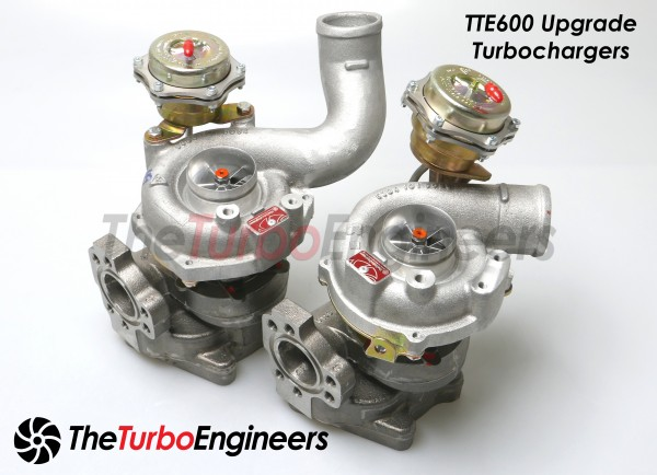 TTE600 RS4 UPGRADE TURBOCHARGERS